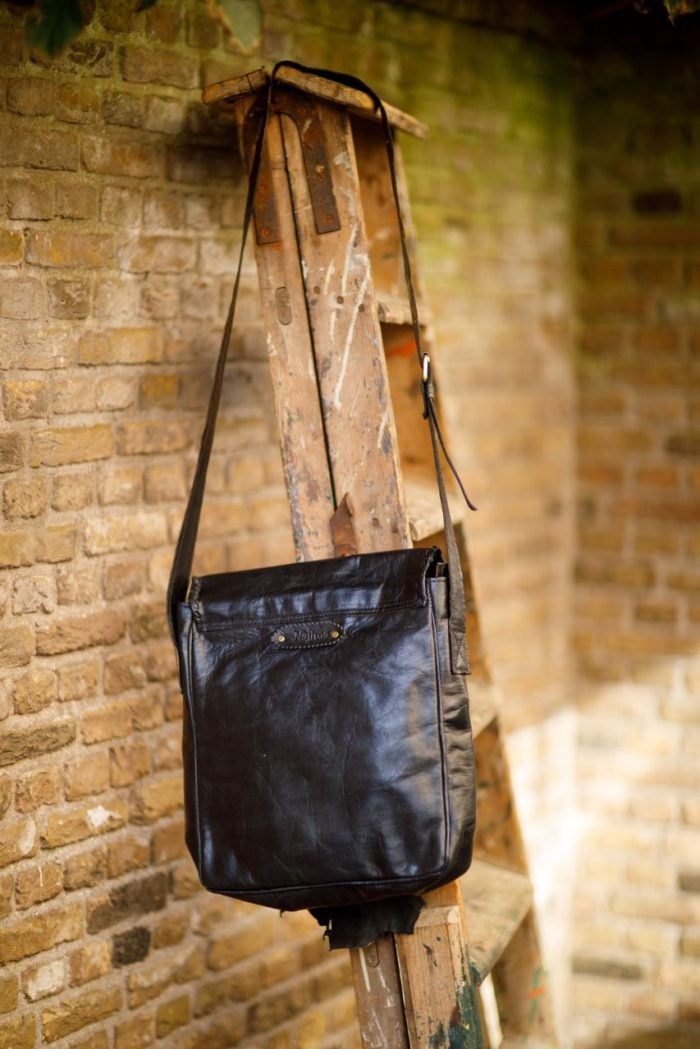 Najima Bag Amina A007 Black Back