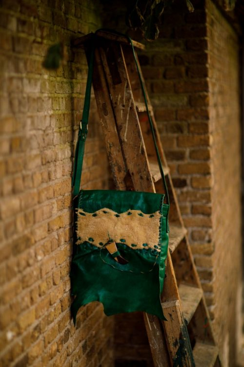 Najima Bag Amina A007 Green Front