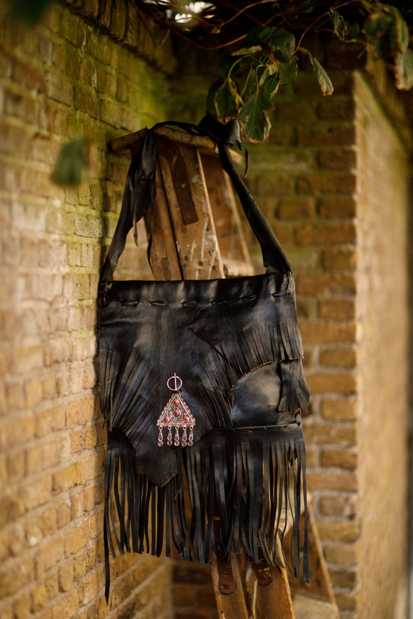 Najima Bag Anissa A009 Black Front