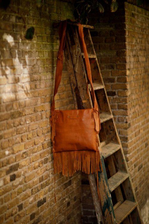 Najima Bag Anissa A009 Brown Light Back