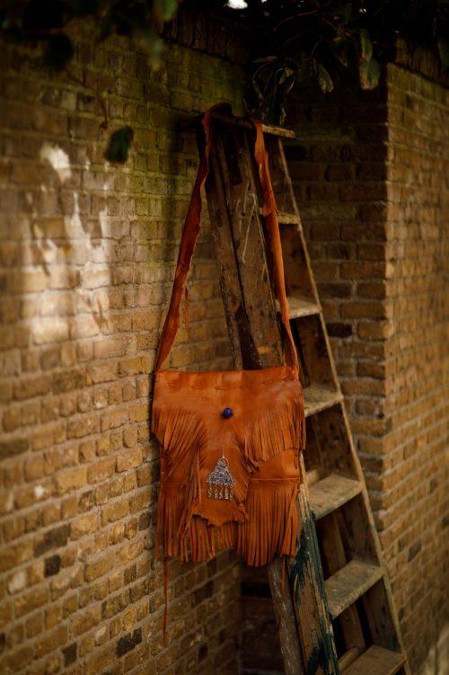 Najima Bag Anissa A009 Brown Light Front