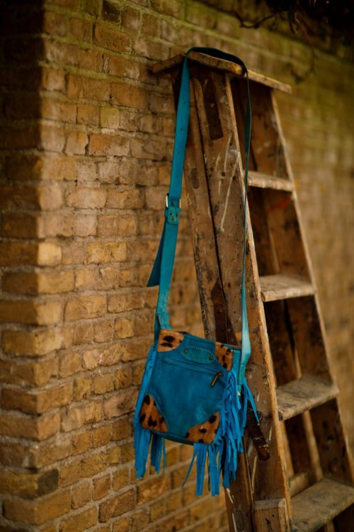 Najima Bag Farah A010 Blue Back