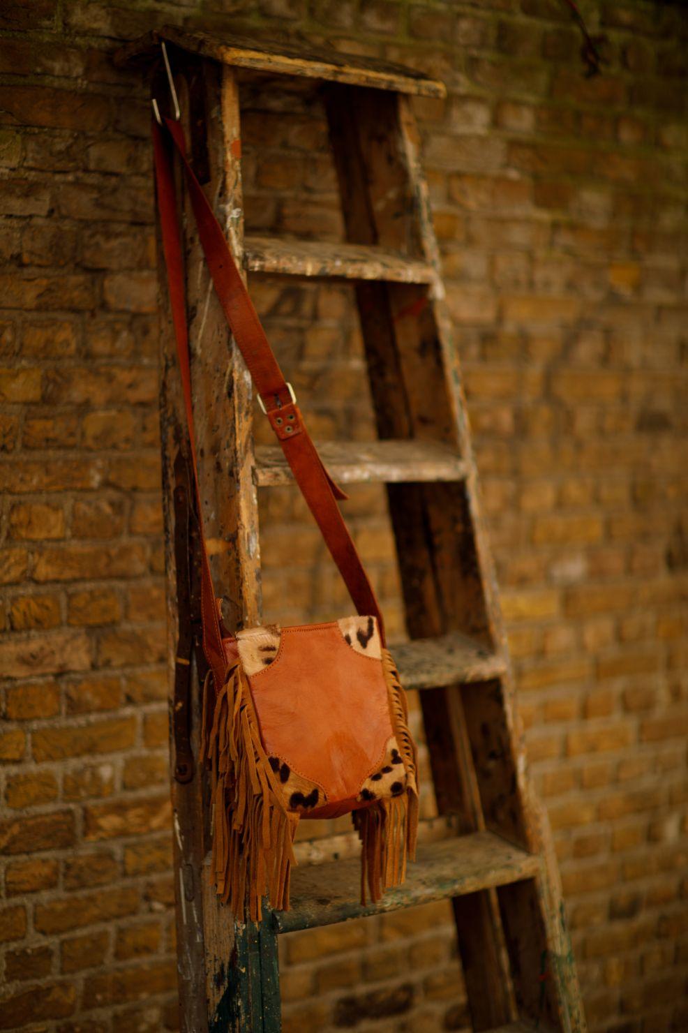 Najima-Bag-Farah A010 Brown Front
