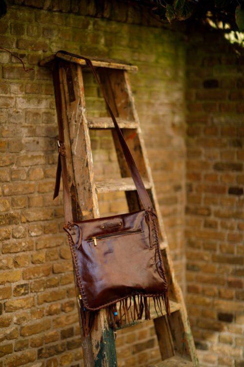 Najima Bag Fatima A011 Brown Dark Back