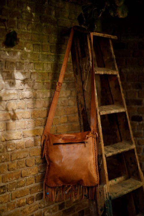 Najima Bag Fatima A011 Brown Light Back