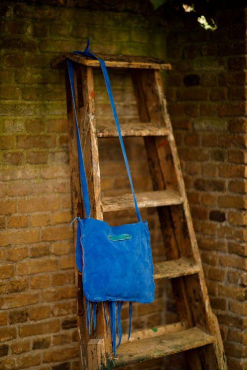 Najima Bag Hanane A013 Blue Back