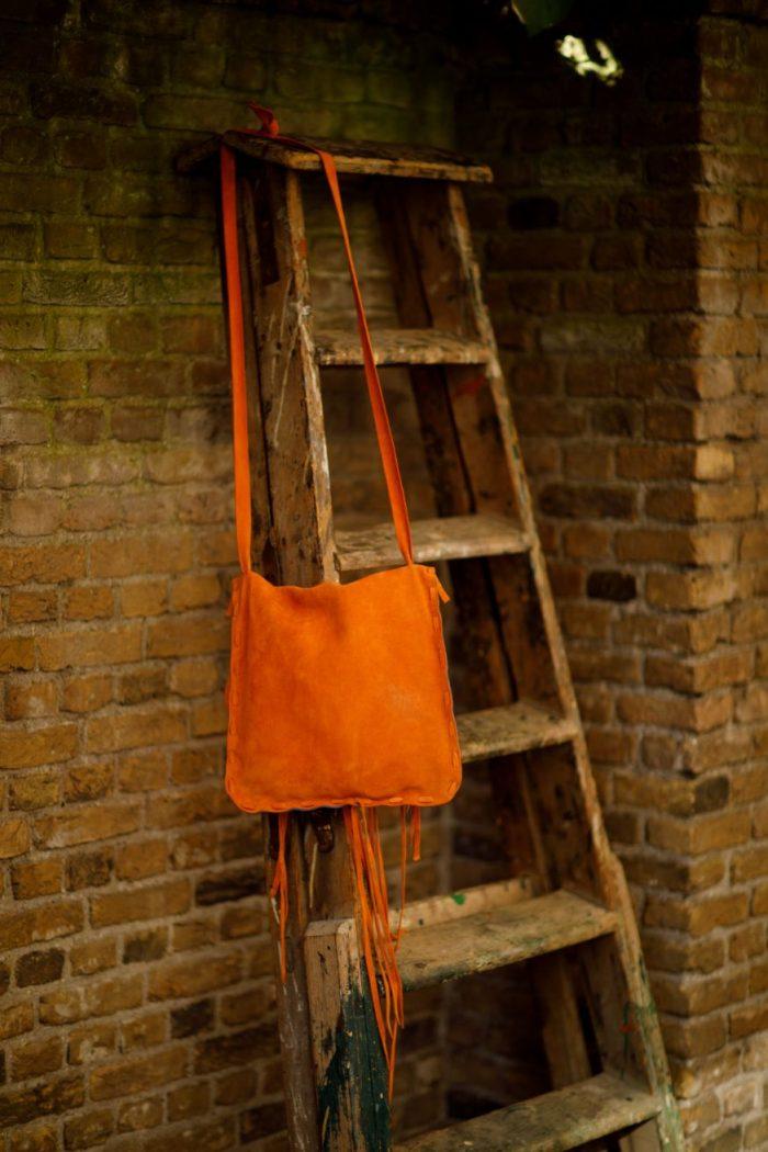 Najima Bag Hanane A013 Orange Back