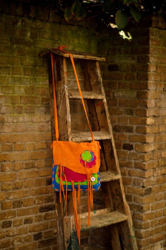 Najima Bag Hanane A013 Orange Front