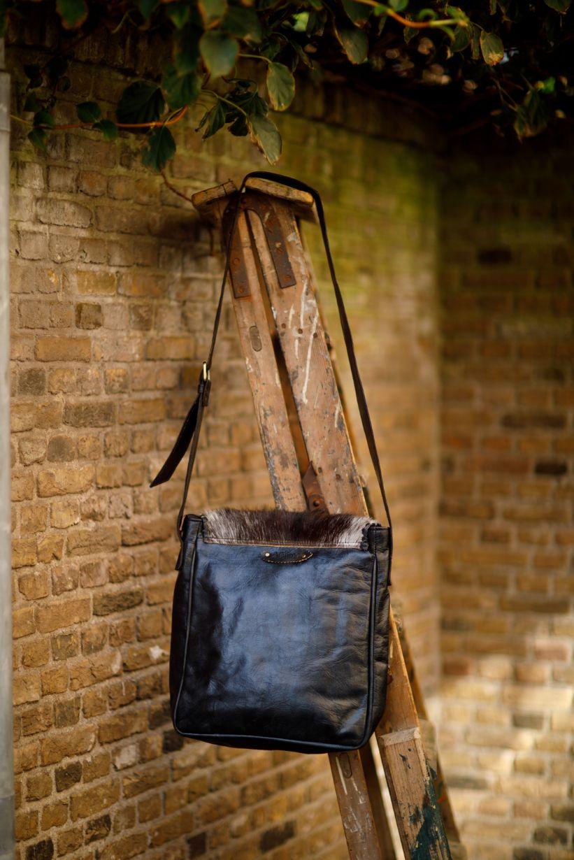 Najima Bag Imane A015 Black Back