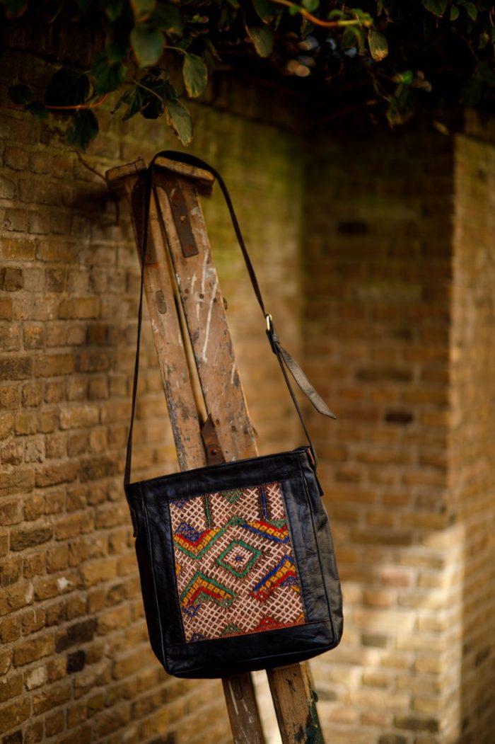 Najima Bag Imane A015 Black Front 2