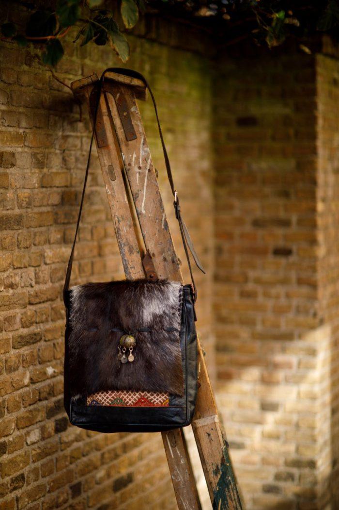 Najima Bag Imane A015 Black Front