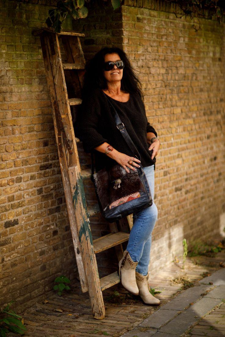 Najima Bag Imane A015 Black
