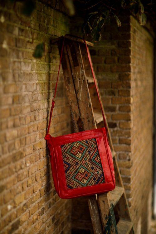 Najima Bag Imane A015 Red Front 2