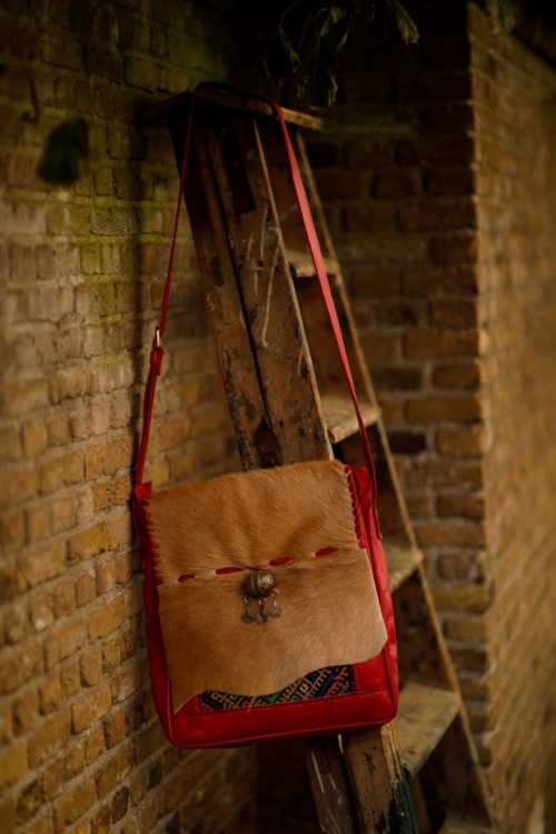 Najima Bag Imane A015 Red Front