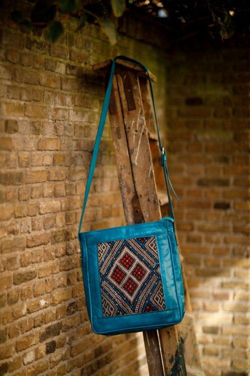 Najima Bag Imane A015 Turkoois Front 1