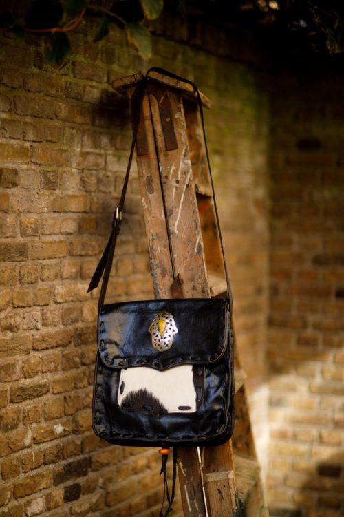 Najima Bag Jamila A018 Black Front