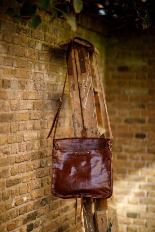 Najima Bag Jamila A018 Brown Dark Back