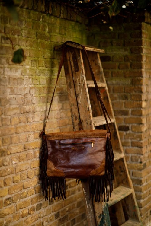 Najima Bag Jarita A014 Brown Back