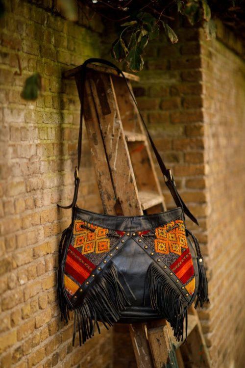 Najima Bag Jenah A006 Black Front