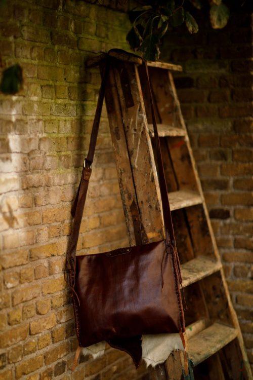 Najima Bag Jimell A003 Brown Back