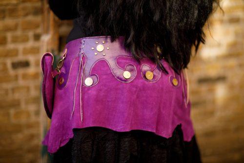 Najima Belt Sabi B110 Purple Back