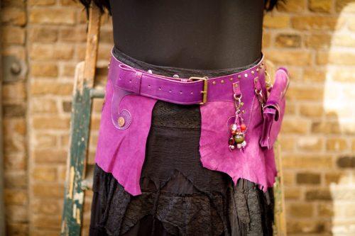 Najima Belt Sabi B110 Purple Front