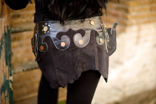 Najima Skirt Mariam B100 Black Back