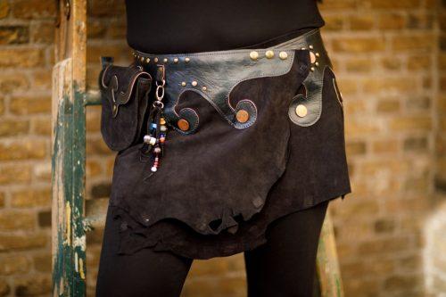 Najima Skirt Mariam B100 Black Front