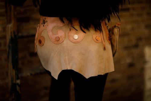 Najima Skirt Medina B100 Beige Back