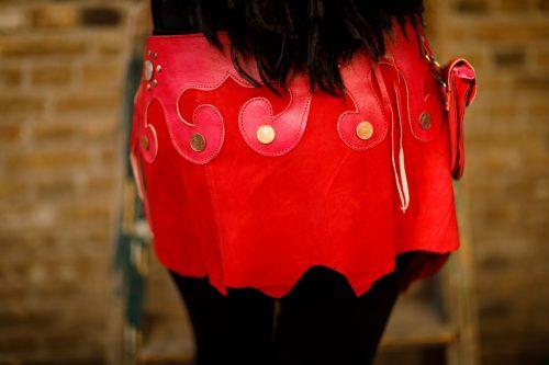Najima Skirt Mina B100 Red Back