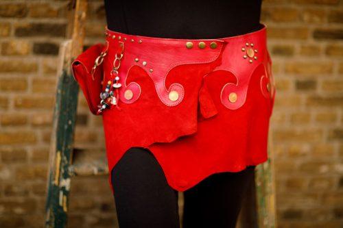Najima Skirt Mina B100 Red Front