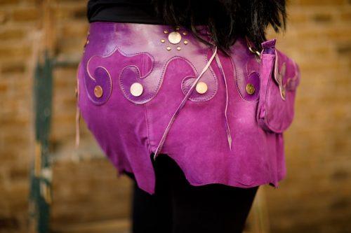 Najima Skirt Najar B100 Purple Back