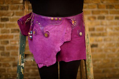 Najima Skirt Najar B100 Purple Front